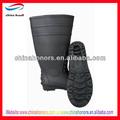 La industria del pvc de seguridad botas de trabajo/de acero del dedo del pie insertar la placa de acero y botas de seguridad