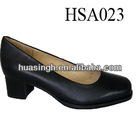 XM,durable and comfortable office/executive popular Italy leather black dress shoes for lady