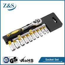 "12 PCS 1/4""DR. SOCKET SET, CR-V HIGH QUALITY HAND TOOL"