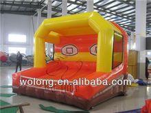 inflatable basketball shoot game for sale
