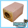 Colorful Pet House Cozy Craft Soft Pet Beds