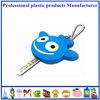 Custom promotional gift 3d both sides logo soft pvc custom made key caps