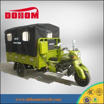 Made in Chongqing heavy duty cargo chopper three wheel motorcycle