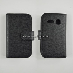 Leather Phone Case With Card Holder Cover For alcatel one touch idol/6030d made in china