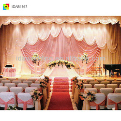 HOT sale fancy sweet Wedding Church crystal glass diamond bead curtain