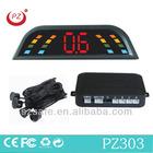 led dispaly parking sensor auto back radar with bibi sound alarm
