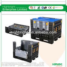 2013 high-quality large plastic crates
