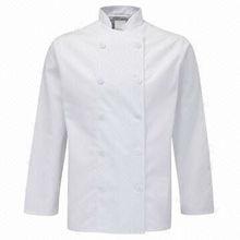 100% Cotton Chef Uniform - White