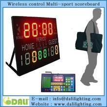 User Friendly wireless scoreboard & timer for school nba zone