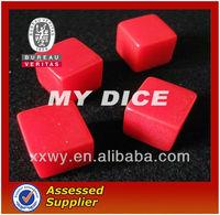 2013New custom resin colored 10mm dice