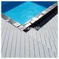 Wpc creux composite extérieure carte bois de plancher