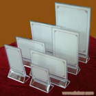 acrylic card stand ,acrylic paper display,acrylic leaflet holder