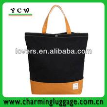 zipper blank standard size canvas tote bag