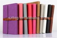 flip case for ipad air, retro style book case for ipad 5