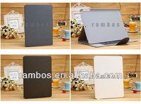 Fold Flip Case Cover Stand PU Leather Tablet Protector Case for iPad Air for iPad 5