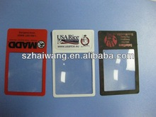 HW803 85*55mm Any Logo magnifying glass