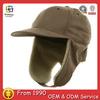Suede Winter Flap Cap winter ear cap suede baseball cap winter ear flap beanie caps