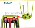 ( v052003) de usos múltiples de metal redondo paso plegable taburete silla