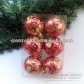 isopor glitter bolas de natal com desenho colorido