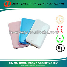 Big capacity portable charger battery for samsung galaxy note with beauty , slim design and dust prevention