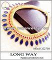 シックなスタイルソリッドカラー形状メガネ女性のためのペンダントの合金のネックレス