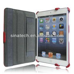For mini ipad case, for mini ipad leather case, protective case for ipad mini