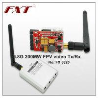ultra light 5.8GHz 1000MW audio video wireless RF RC transmitter receiver kit, for model quadricopter rc
