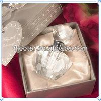 DIY Trade 3-5ML Italian Crystal Glass Perfume Bottle For Etiquette Bathroom Accessories