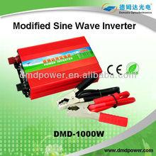 1200w modified sine wave car 12v dc in 220v ac out Best 220v to 110v converter 1000w for led light CE Compliant
