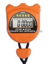 LCD chronograph timer sports stopwatch/digital sports stopwatch