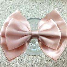 1-509 Handmade grosgrain hair bowknot pink dog bows wholesale