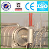 Environmental production with ISO&CE&BV certificate waste tire to oil plant