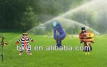 scarecrow motion activated animal deterrent battory powered sprinkler deer rabbit repellent