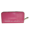 Popular cheap lady pu wallet &purse