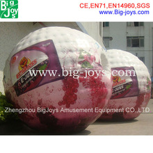 2013 High quality CE bounce inflatable ball price,zorb balls for sale
