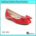 2014 mais recente o mais quente Custome projetado moda fotos de mulheres sapatos baixos Ballet Flat Shoes 2013