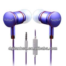 ULDUM High quality with mic stereo headphone promotional earphone for dj headphone