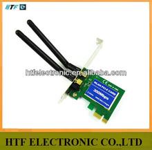 full inspection 300M 802.11b/g/n desktop metal case usb PCI-e wifi host adapter for pcmcia sd network express mini graphics card