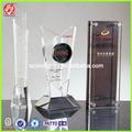 personalizado de plástico transparente de acrílico trofeo