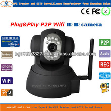 Cheap indoor plug&play IR wifi p2p network camera