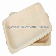 China supplier biodegradable tableware bamboo disposable plates wholesale
