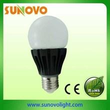 2013 HK lighting fair hotsale led bulb pure white