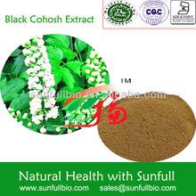 Herbal Medicine Black Cohosh Extract/ Triterpen saponine