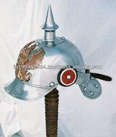 Pickelhaube German Steel helmet