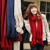 girl christmas scarf tassel scarf