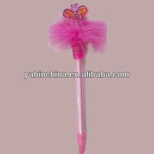 Mini Color Feather Ball Pen