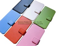 Genuine Leather Wallet Stand Case Cell Phone Folio Back Shell Cover for iPhone 5C