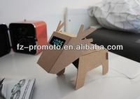 2014 cheap foldable cardboard speaker paper