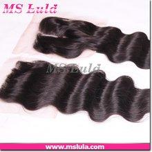 best virgin hair lace closure Brazilian/Malaysian/Indian/Peruvian/Bohemian hair
