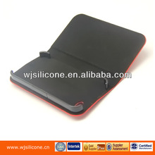Made in Shenzhen China leather flip case for iphone 4 soft mobile cover